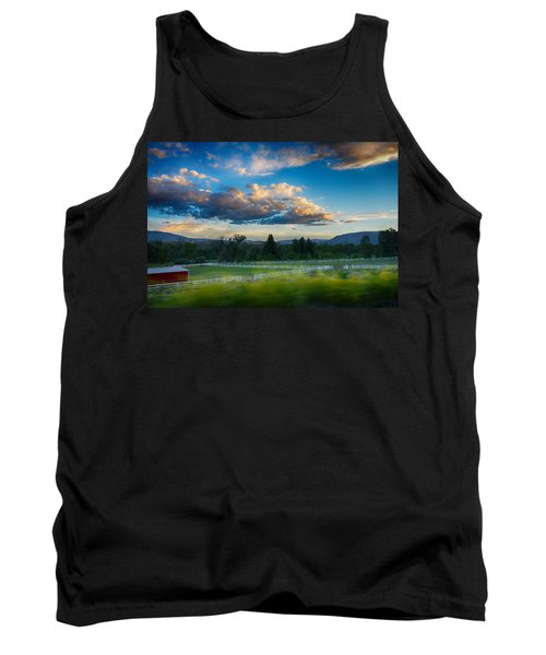 Breathtaking Colorado Sunset 1 Tank Top