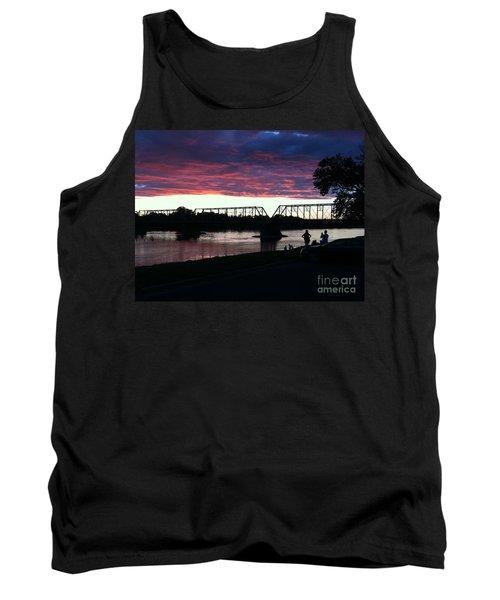 Bridge Sunset In June Tank Top