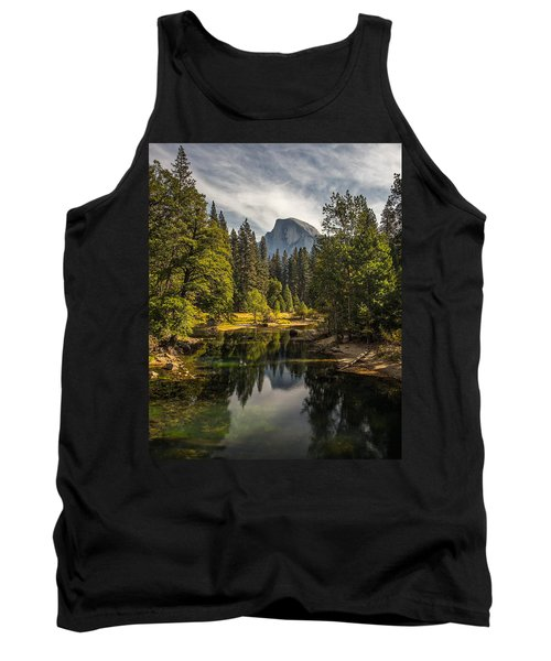 Bridge View Half Dome Tank Top by Peter Tellone