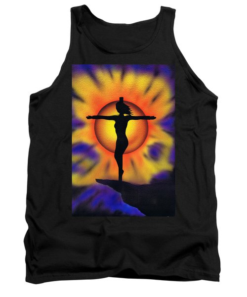 Tank Top featuring the painting Bring Me Back To Life. by Kenneth Clarke