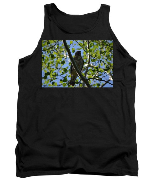 Tank Top featuring the photograph Broad-winged Hawk by James Petersen