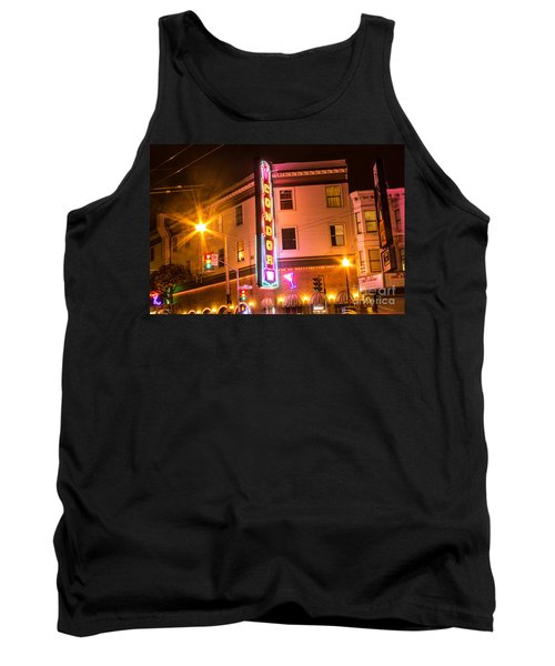 Tank Top featuring the photograph Broadway At Night by Suzanne Luft
