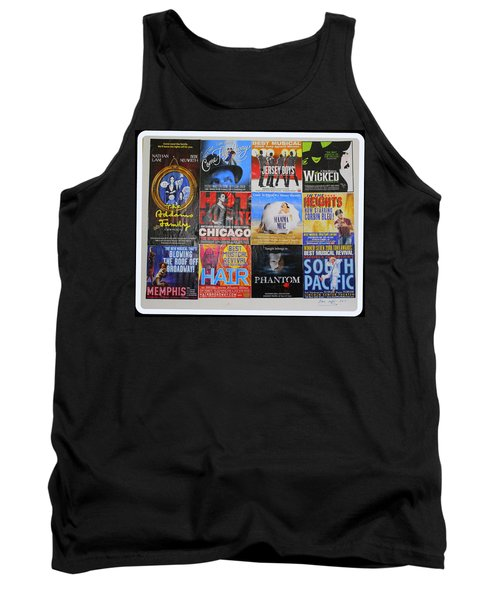 Broadway's Favorites Tank Top by Dora Sofia Caputo Photographic Art and Design