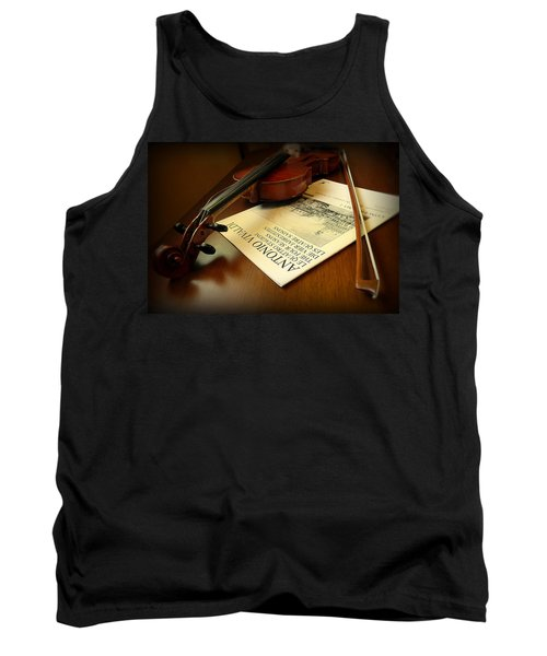 Tank Top featuring the photograph Broken String by Lucinda Walter