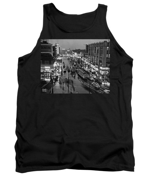 Bronx Fordham Road At Night Tank Top