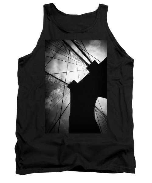Brooklyn Bridge Silhouette Tank Top