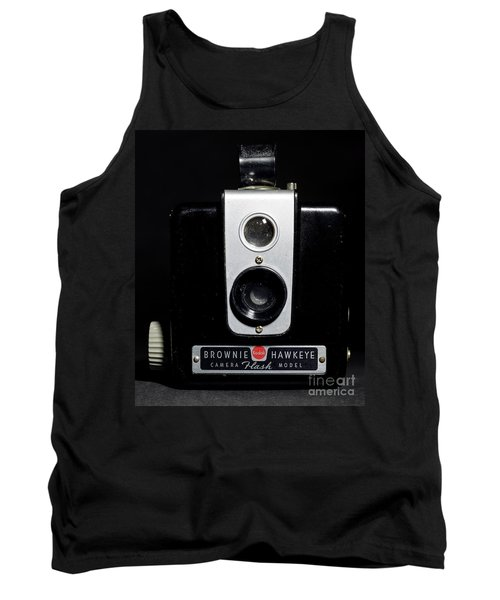 Brownie Hawkeye Flash Camera Tank Top