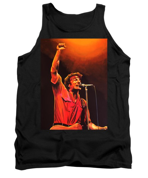 Bruce Springsteen Painting Tank Top