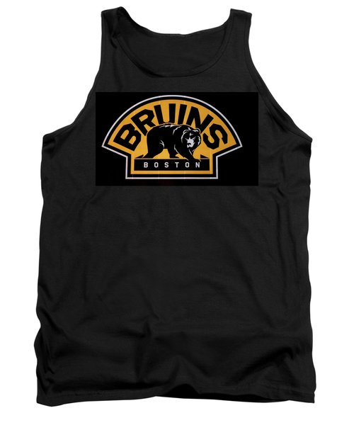 Tank Top featuring the photograph Bruins In Boston by Caroline Stella