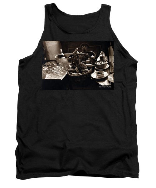 Brunch In The Loire Valley Tank Top by Madeline Ellis