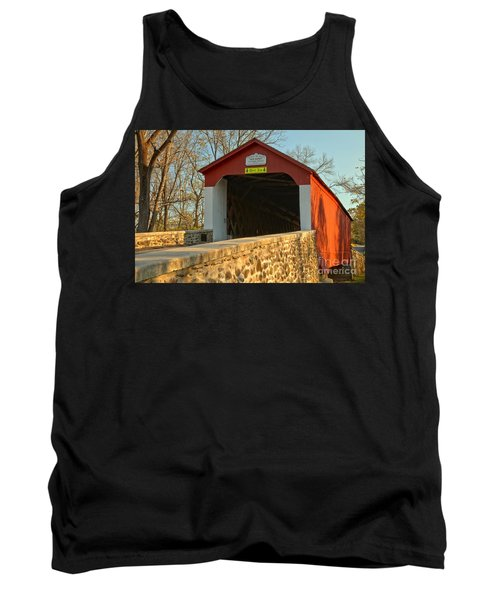 Bucks County Van Sant Covered Bridge Tank Top