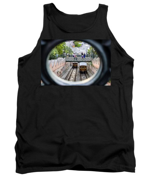 Budapest Castle Hill Funicular Tank Top
