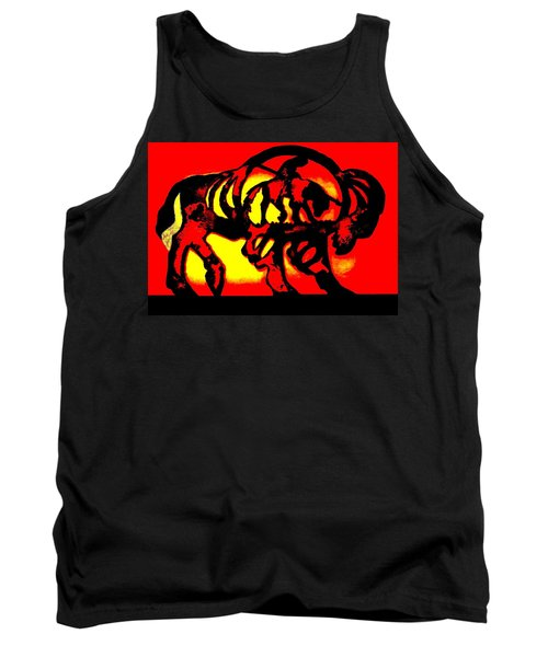 Buffalo Sun Set Tank Top by Larry Campbell