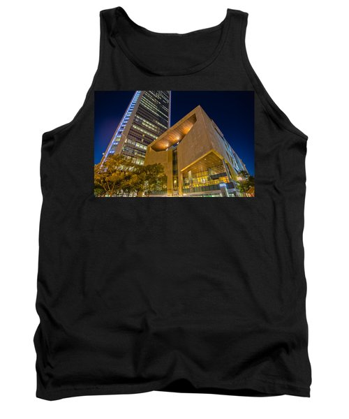 Tank Top featuring the photograph Buildings And Architecture Around Mint Museum In Charlotte North by Alex Grichenko
