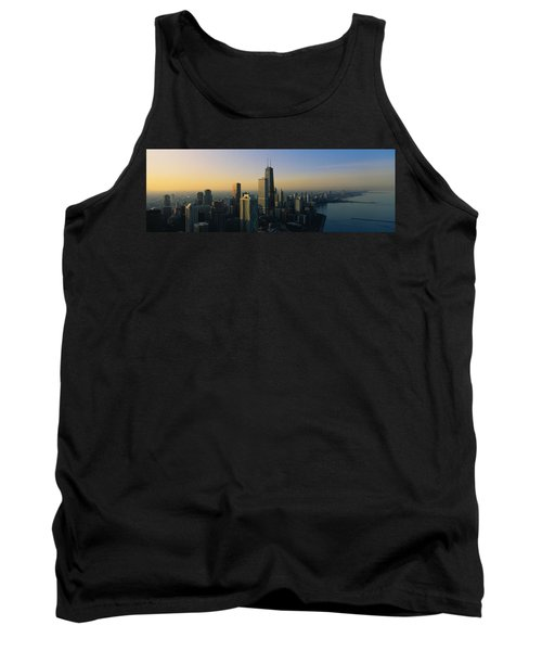 Buildings At The Waterfront, Chicago Tank Top by Panoramic Images