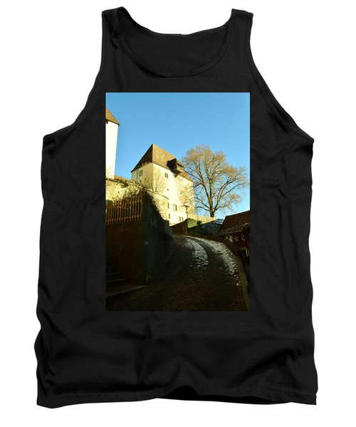 Tank Top featuring the photograph Burgdorf Castle In December by Felicia Tica