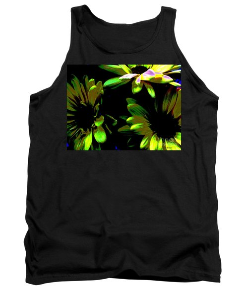 Tank Top featuring the photograph Burst by Greg Patzer