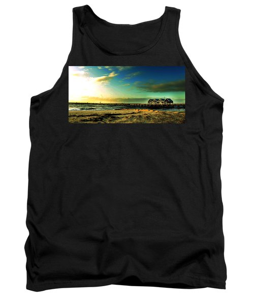Tank Top featuring the photograph Busselton Jetty by Yew Kwang