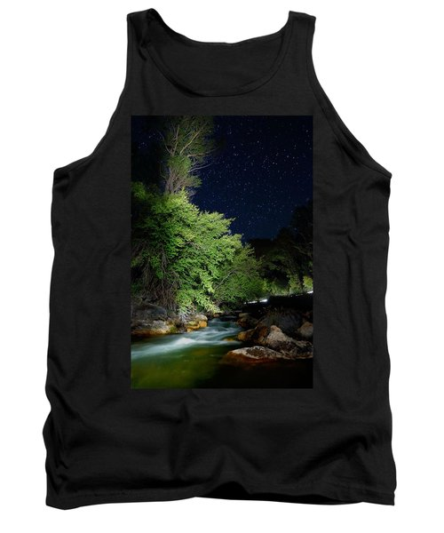 Tank Top featuring the photograph Busy Night by David Andersen