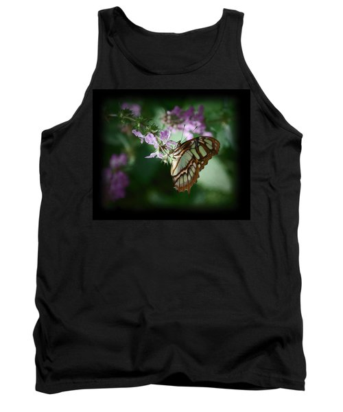 Tank Top featuring the photograph Butterfly 7 by Leticia Latocki