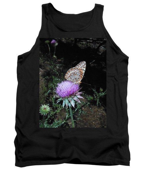 Butterfly At Peace Tank Top