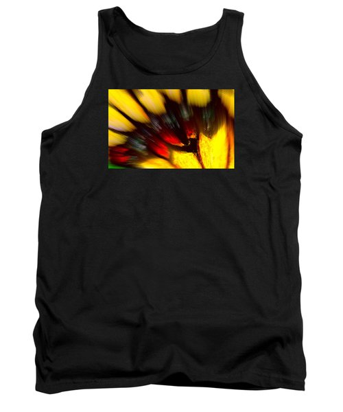 Tank Top featuring the digital art Butterfly Wing Pastel by Antonia Citrino