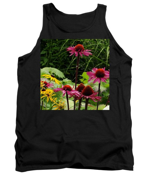 Tank Top featuring the photograph Button Up by Natalie Ortiz