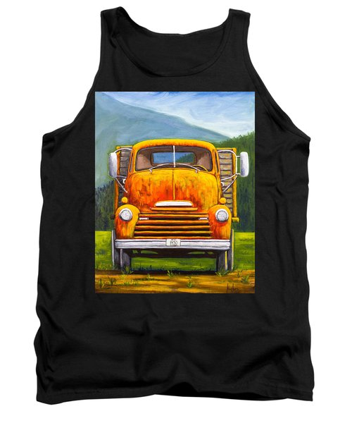 Cabover Truck Tank Top