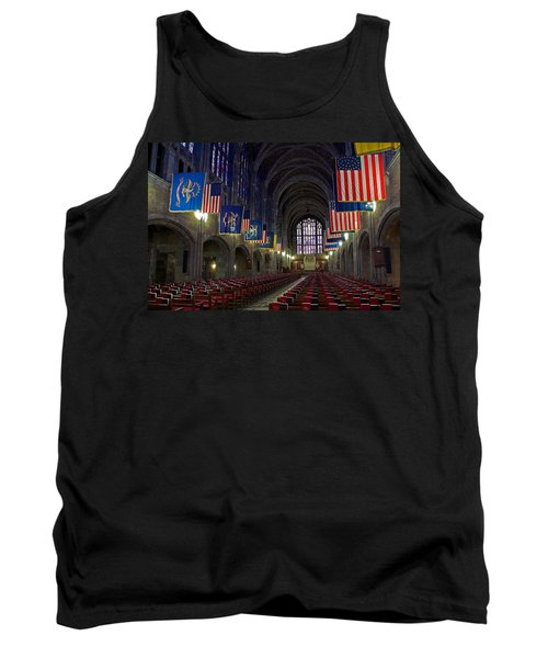 Cadet Chapel At West Point Tank Top