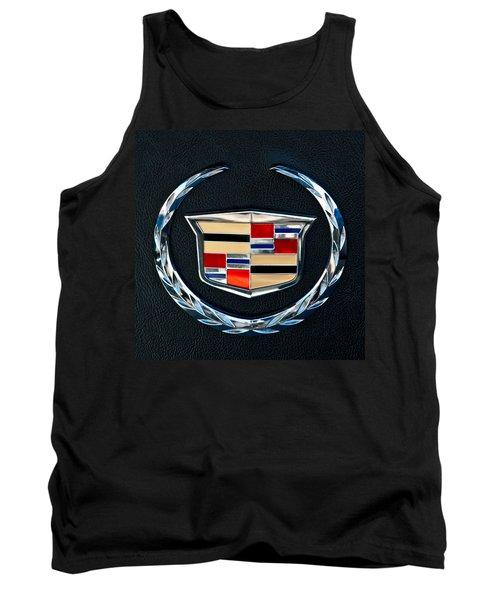 Cadillac Emblem Tank Top by Jill Reger