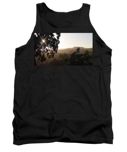 Tank Top featuring the photograph Cali Sun Set by Shawn Marlow
