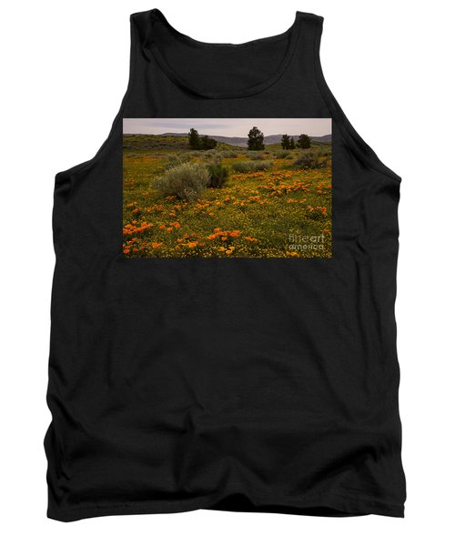 California Poppies In The Antelope Valley Tank Top