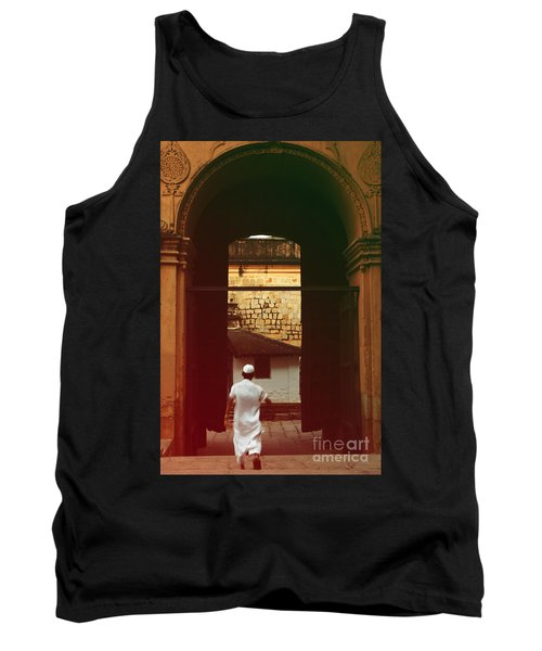Tank Top featuring the photograph Call To Prayer by Mini Arora