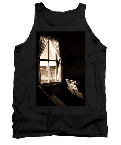 Tank Top featuring the photograph Call To Worship by Jim Garrison