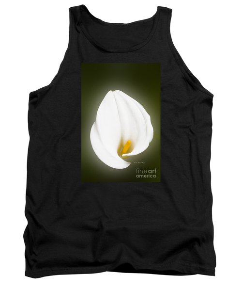 Calla Lily Flower Glow Tank Top