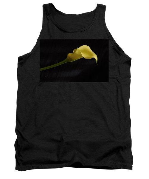 Calla Lily Yellow II Tank Top