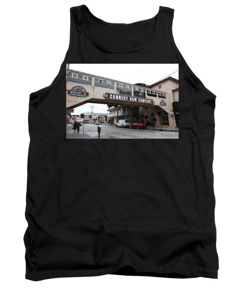 Calm Morning At Monterey Cannery Row California 5d24780 Tank Top