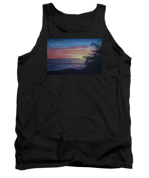 Cambria Setting Sun Tank Top by Ian Donley