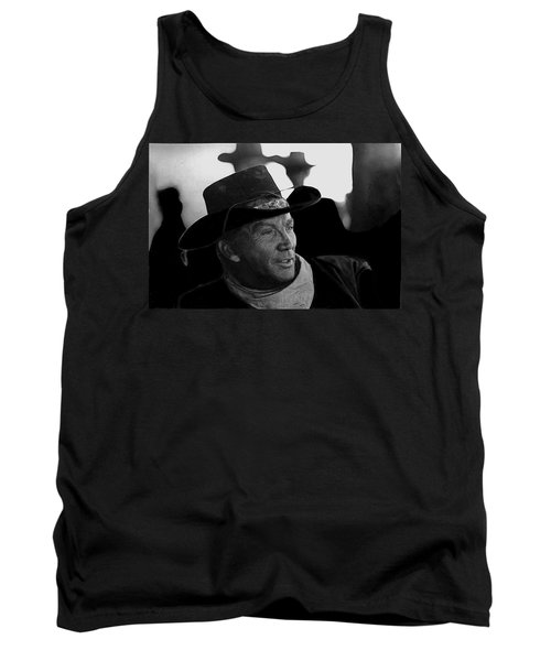 Cameron Mitchell The High Chaparral Set Old Tucson Arizona 1967-2008 Tank Top by David Lee Guss