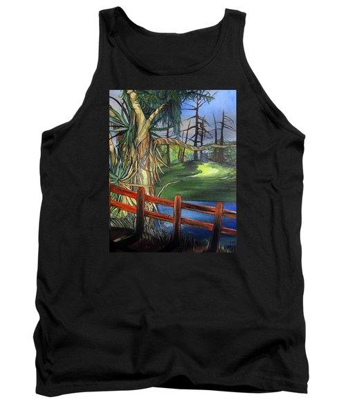 Camino Real Park Tank Top by Mary Ellen Frazee