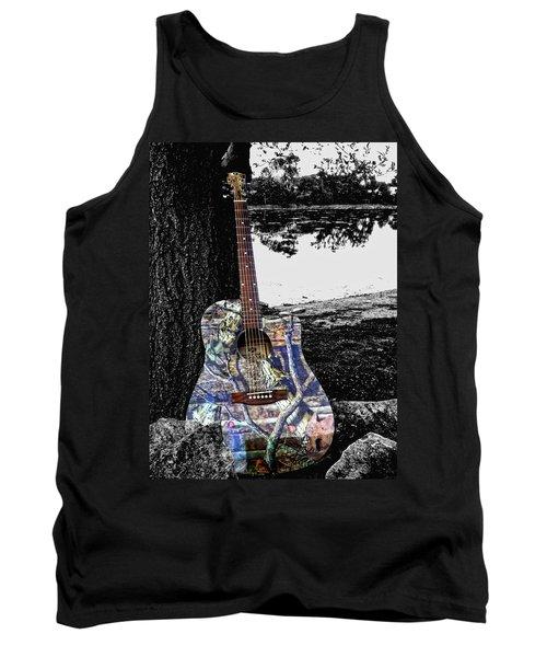 Camo Guitar Tank Top