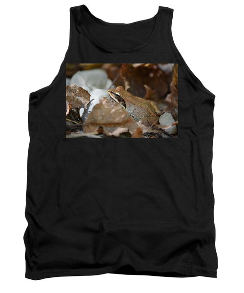 Camouflage Tank Top by James Petersen