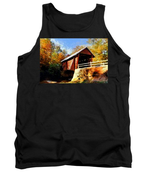 Campbell's Covered Bridge Tank Top