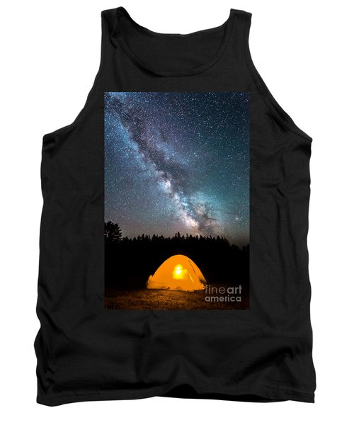 Camping Under The Stars Tank Top