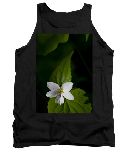Canada Violet Tank Top by Melinda Fawver