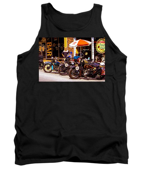 Cannonball Motorcycle Colors Tank Top