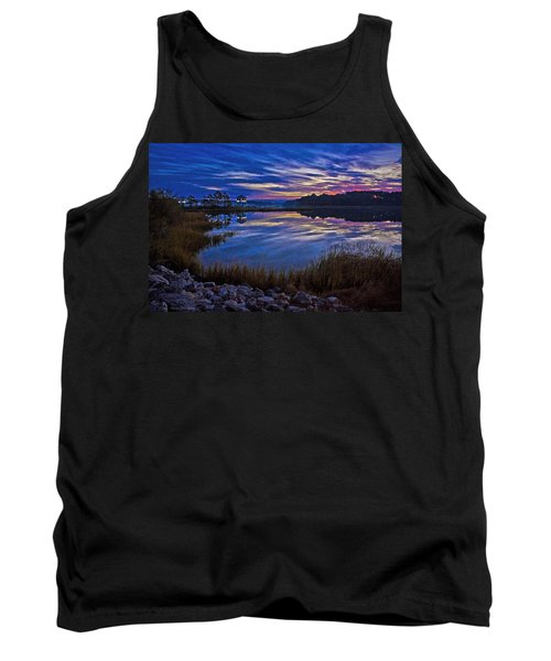 Cape Charles Sunrise Tank Top by Suzanne Stout