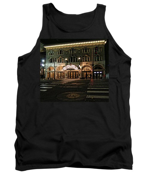 Tank Top featuring the photograph Capitol Theatre by Ely Arsha