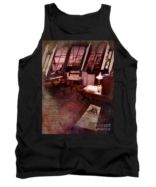 Captain's Cabin On The Dicey Tank Top