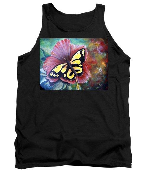 Carnival Butterfly Tank Top